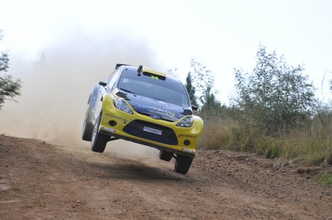 Cronje pips competition at Sasol Rally