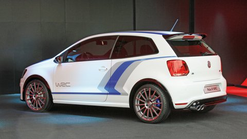 VW shows off Polo R WRC Street and Polo R WRC