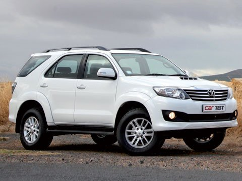 Toyota Fortuner 2,5 D-4D VNT raised body