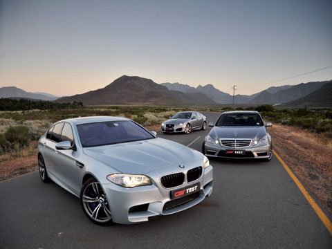 The athlete (BMW), The beast (Merc) and the beauty (Jaguar); never before has the super-saloon battle been so close.