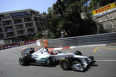 Monaco GP thriller