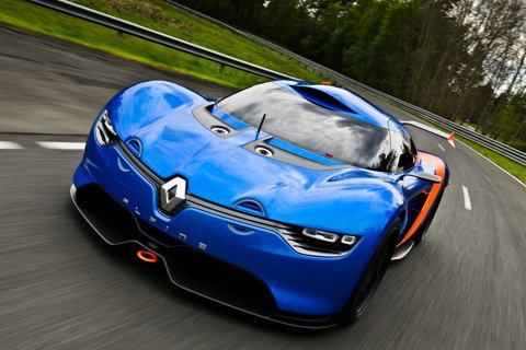 Lotus to build ravishing Renault Alpine?