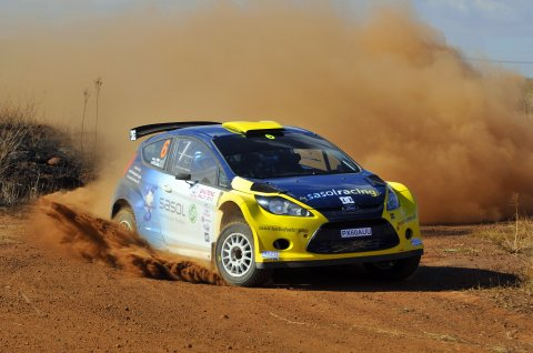Sasol Rally Team records third win