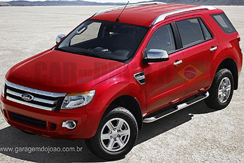 Is this the new Ford Everest?