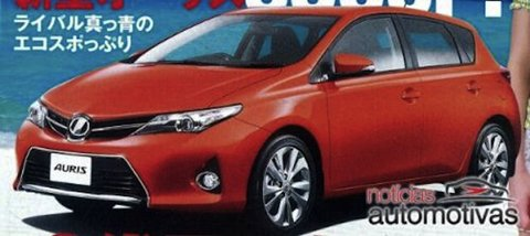 UNCOVERED! New Toyota Auris… and some Corolla