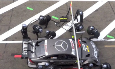 DTM Pit Crew Injured In Freak Accident [video]