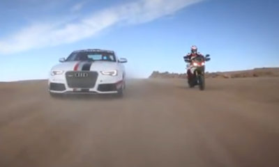 Audi, Ducati and Pikes Peak: together at last