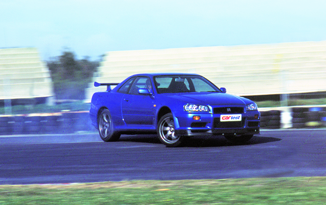 Marvelous From The Archives: Nissan Skyline R34 GTR V Spec