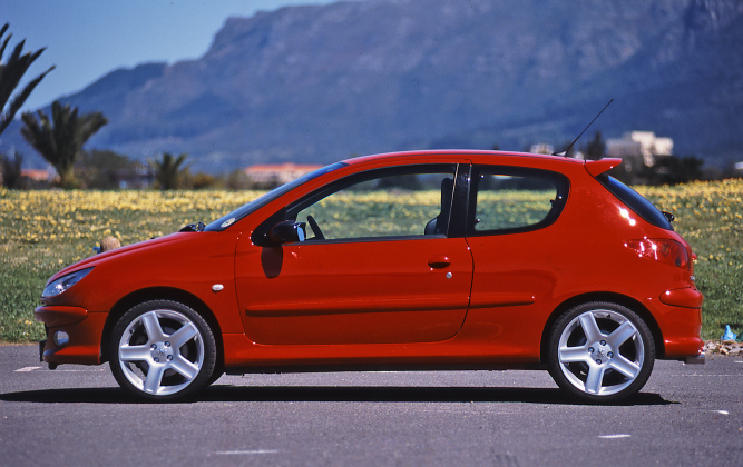 From The Archives Peugeot 206 Gti 180 Car Magazine
