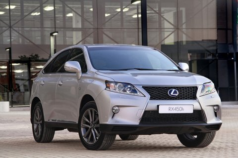 Sharper styling for Lexus RX