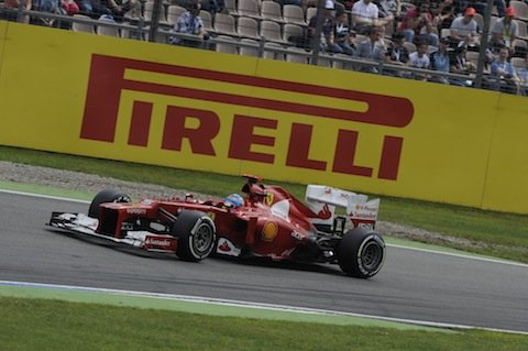 German GP – Alonso reigns supreme