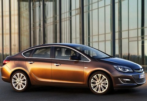 New Opel Astra saloon headed our way?