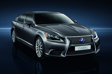 Lexus lifts the wraps on the 2013 LS