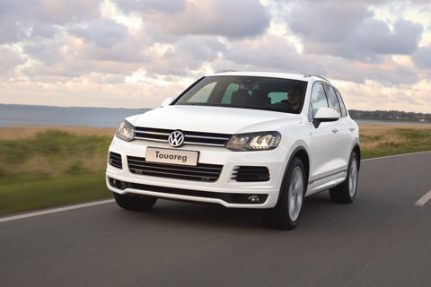 R-Line treatment gives Touareg a sportier look