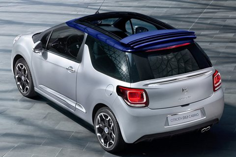 Citroën DS3 Cabrio revealed ahead of Paris