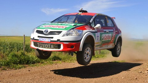 Gemmel and Swan win Toyota Cape Dealer Rally