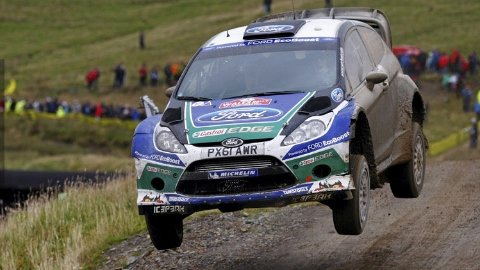 Latvala returns to winning ways in Wales