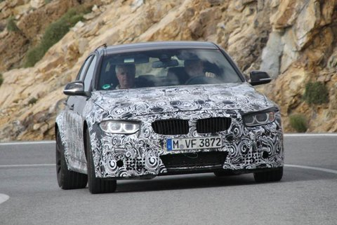 BMW's 2013 M3 engine exposed