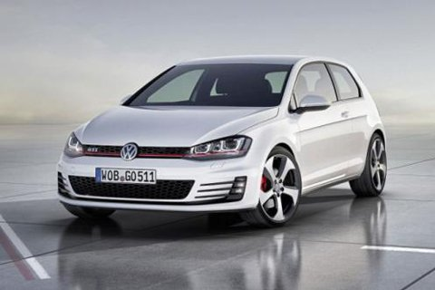 Volkswagen Golf 7 GTI concept revealed