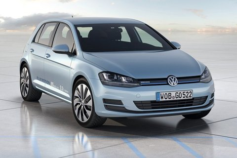 Golf BlueMotion concept bows in Paris