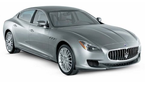 Maserati's 5 Series rival takes shape