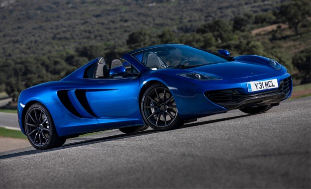 Superb McLaren MP4 12C Spider