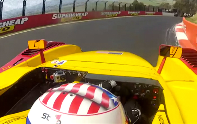 Porsche RS Spyder Tackles Bathhurst [video]