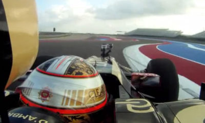 First On-Board Lap Of The New Circuit Of Americas F1 Track [video]