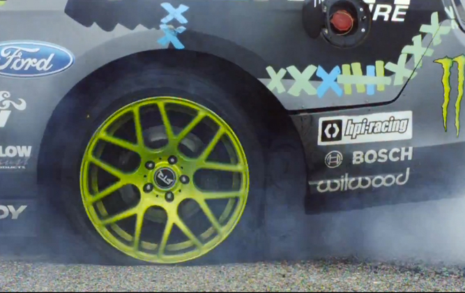 Slow-Motion Execution Of A Tyre! [video]