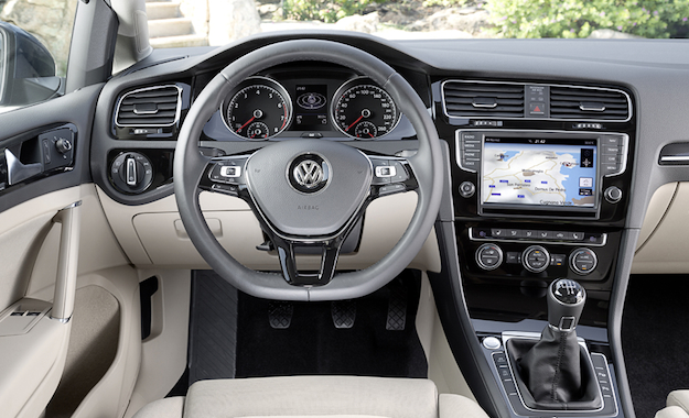 The cabin is conservative but neat, and packed with luxury car equipment (some optional).