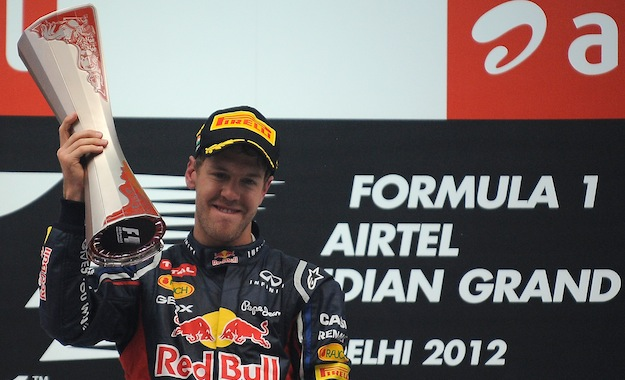 F1 India: Vettel Wins, But Alonso Not Giving Up