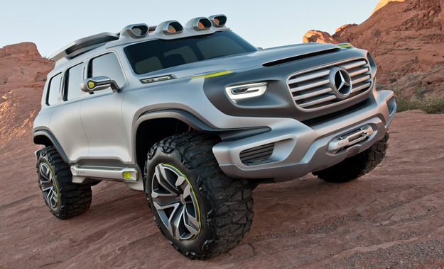 Mercedes' Enger-G-Force could give us a glimpse of a G-Class replacement