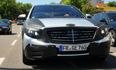 Innovative safety technology for next-generation Mercedes S-Class
