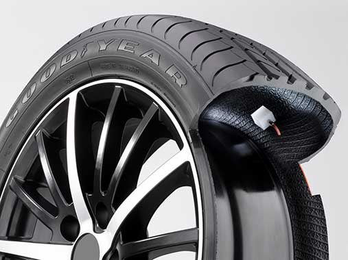 Inflating tyres may soon be something of the past.