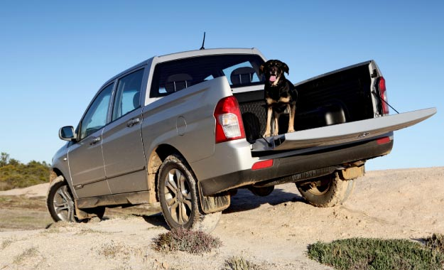 With low-range, a diff lock and a flexible powertrain, off-roading is well catered for.