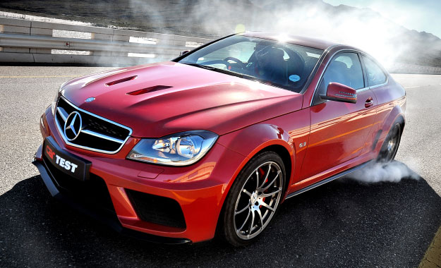 Dark Side of the Hoon - Mercedes-Benz's C63 AMG Coupé Black Series