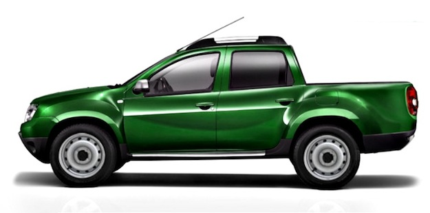 dacia duster double cab on the way car magazine. Black Bedroom Furniture Sets. Home Design Ideas