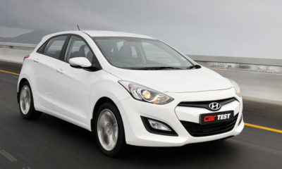 The Hyundai i30 1,8 GLS's design is a big improvement on its predecessor's and 17-inch alloys are standard on this model.