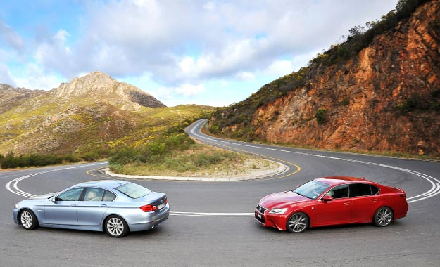 BMW ActiveHybrid 5 vs. Lexus GS450h F-SPORT