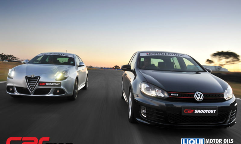 Volkswagen Golf GTI Edition 35 and Alfo Romeo Giulietta 1750 QV