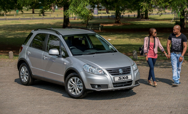 A revised grille, bonnet and front bumper are among the changes made to the 2013 Suziki SX4