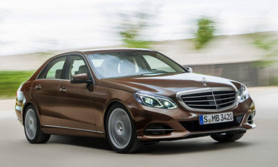 The 2013 Mercedes-Benz E-Class will feature single-piece headlamps