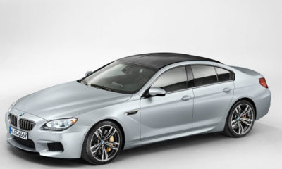 The M6 Gran Coupe applies purposeful M aesthetic elements to the Gran Coupe's graceful design