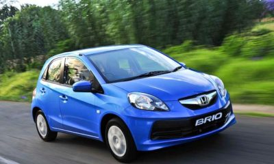 The Brio's compact packaging makes it well suited to inner city driving
