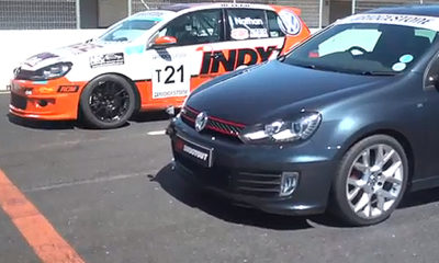 The Golf GTI Edition 35 goes head-to-head with the Production CAR Class T Golf GTI
