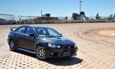 Mitsubishi Lancer Evolution X front view