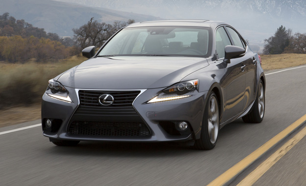 Lexus has revealed the model line-up for its 2013 IS