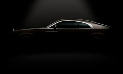 Rolls-Royce has released a teaser image of its upcoming Ghost-based coupé; a model that will see the revival of the company's Wraith nameplate.