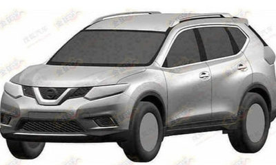 Design patents of what is thought to be the next-generation Nissan X-Trail have hit the 'web