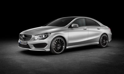 Mercedes has lifted the wraps off its CLA compact saloon